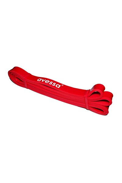 AVESSA Latex Güç Bandı Direnç Lastiği Kırmızı Lpb-21