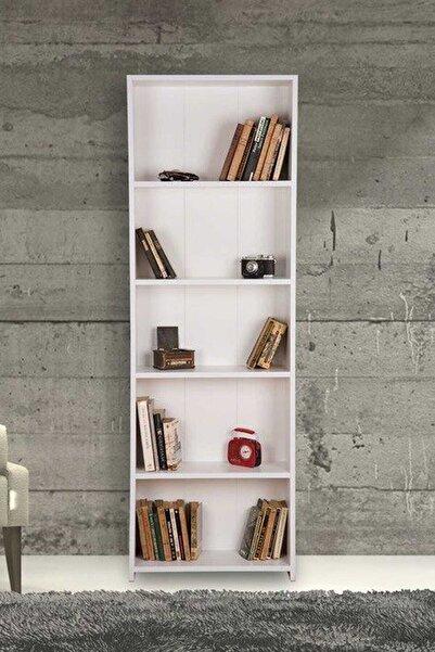 Remaks 5 Raflı Kitaplık - Beyaz