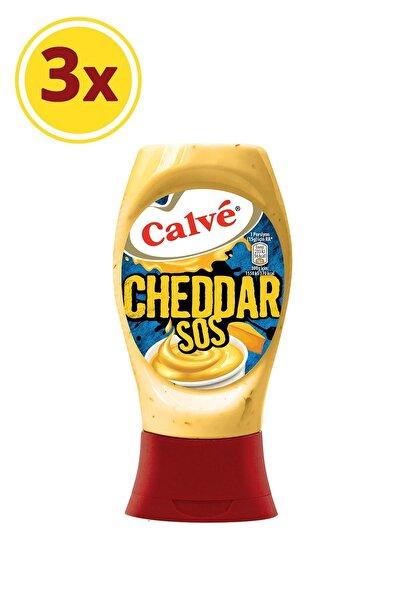 Calve Cheddar Sos 240 gr X 3 Adet