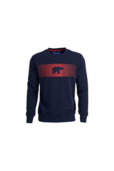Bad Bear 19.02.12.007 Erkek Sweatshırt Lacıvert