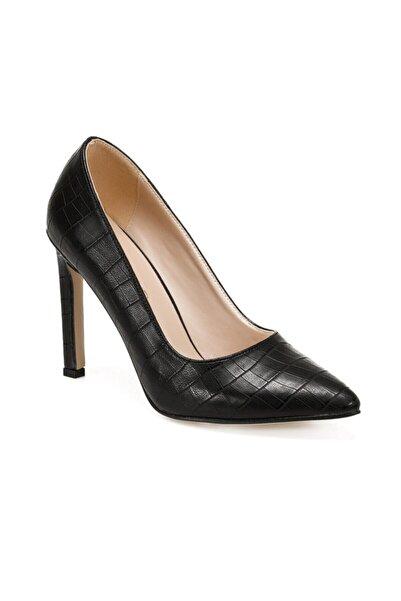 Butigo William Siyah Kadın Topuklu Ayakkabı