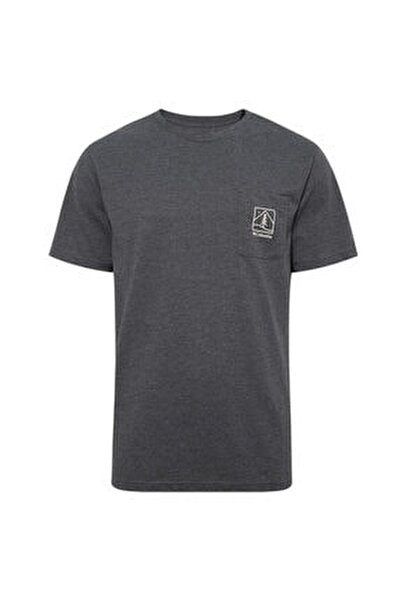 Icon Pocket Erkek Siyah Outdoor Tişört Cs0080-012