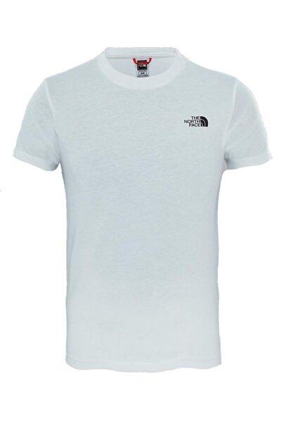 THE NORTH FACE Sımple Dome Çocuk T-shirt Beyaz