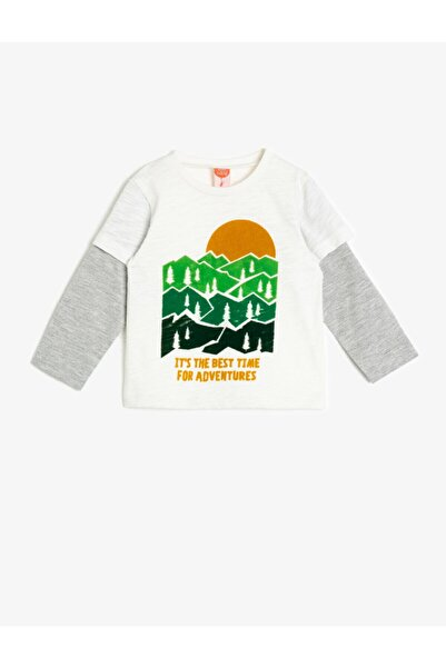 Koton Erkek Bebek Baskili T-shirt