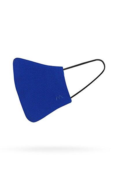 Hemington Pamuk Yıkanabilir Mavi Triko Maske