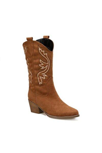 GİANNİ Taba Kadın Ökçeli Çizme 100912945