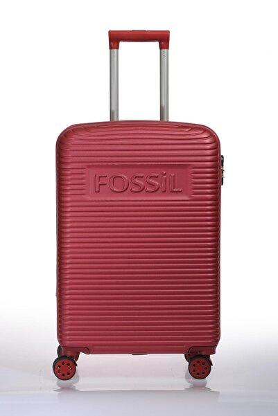 Fossil Fsy1129-m Kırmızı Unısex Orta Boy Valiz