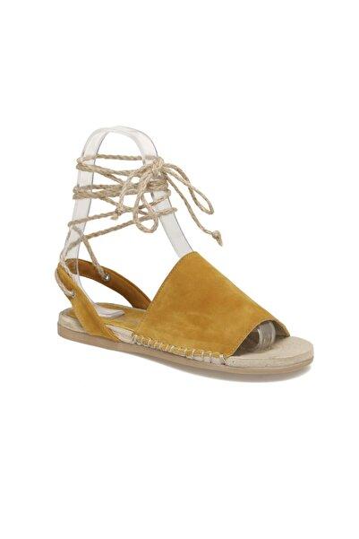 Butigo Palenca Sarı Kadın Sandalet
