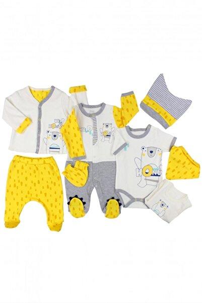 İmaj Ayıcık Erkek Bebek 8'li Zıbın Takımı