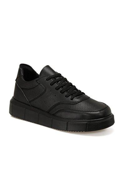 FORESTER Ec-2008 Siyah Erkek Kalın Tabanlı Sneaker