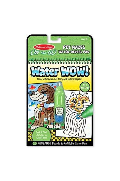 Melissa & Doug Water Wow Su Ile Boyama Kitabı - Evcil Hayvanlar Bulmaca