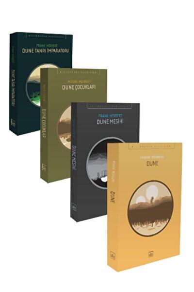 İthaki Yayınları Dune Seti (4 Kitap Takım)