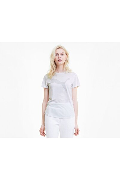 Puma EVOSTRIPE TEE Beyaz Kadın T-Shirt 100583655