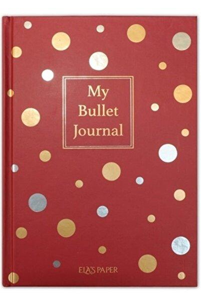 ELAS PAPER My Bullet Journal Defter (Confetti Kırmızı)