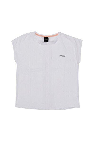 lumberjack W-1827 Tybalt Kk Tshırt Beyaz Kadın T-shirt