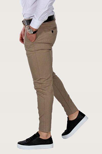 Terapi Men Erkek Keten Pantolon Likralı 7y-2200068-061 Bal Rengi