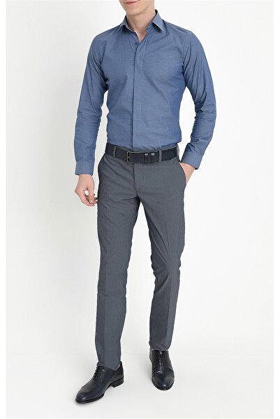 Efor P 1063 Slim Fit Lacivert Spor Pantolon