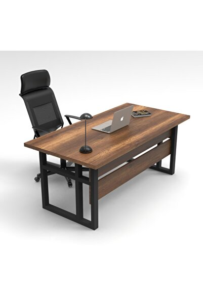 Yurudesign Marken A Ofis Çalışma Masası Metal Ayaklı Barok 180cm*90cm