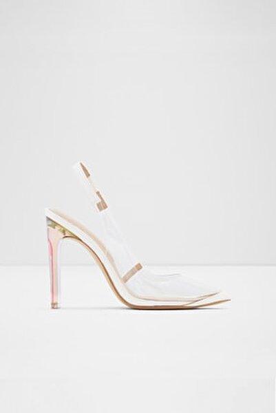 Feıwıa - Beyaz Kadın Topuklu Ayakkabı