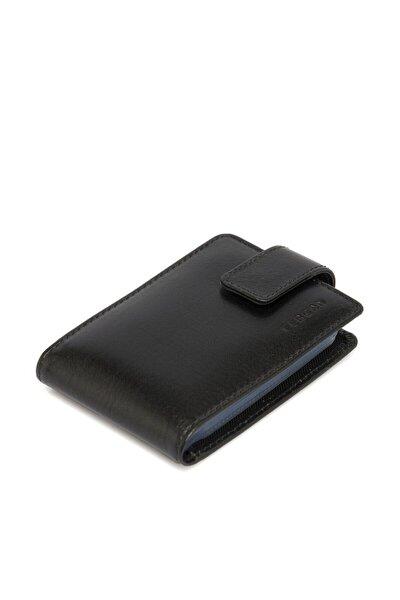 Tergan 1512 Hakiki Deri Siyah Unisex Kredi Kartlık S1kk00001512
