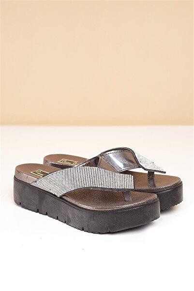 Pierre Cardin Pc-2595 Platin Kadın Sandalet