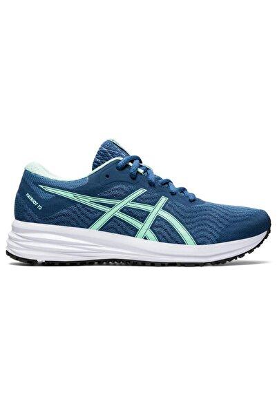 Asics Patriot 12 Kadın Mavi Koşu Ayakkabısı 1012a705-400
