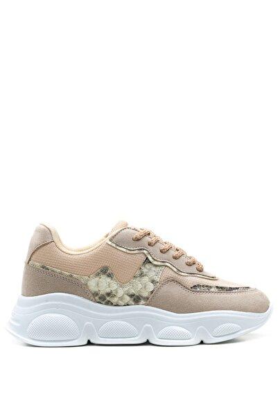 Bulldozer 201958 Bej Kadın Sneakers Ayakkabı