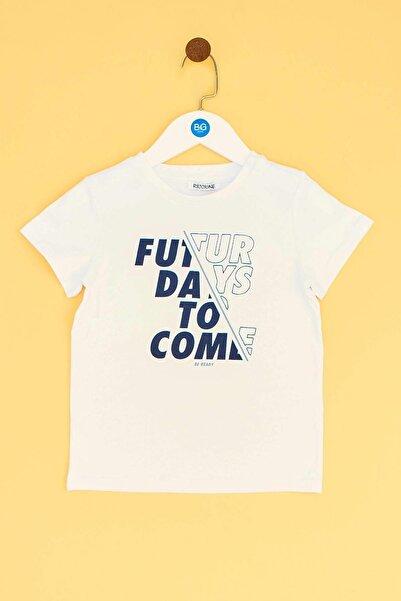 Riccione Erkek Bebek Beyaz T-shirt 19ss0rr1519