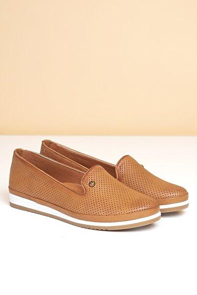 Pierre Cardin Kadın Günlük Ayakkabı-taba Pc-50076