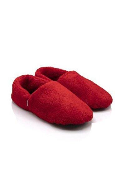 Twigy Tt1252 Cool Kırmızı Kadın Kışlık Ev Ayakkabısı