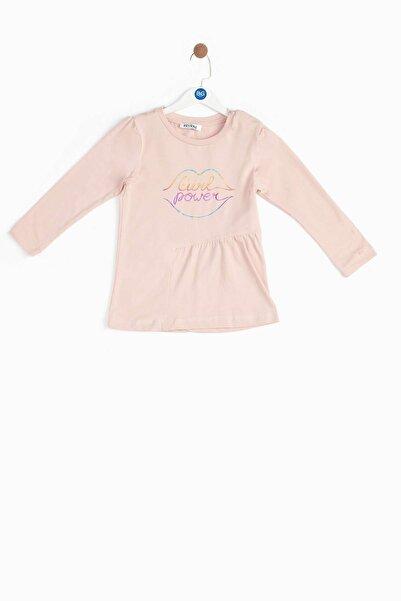 Riccione Kız Bebek Somon T-shirt