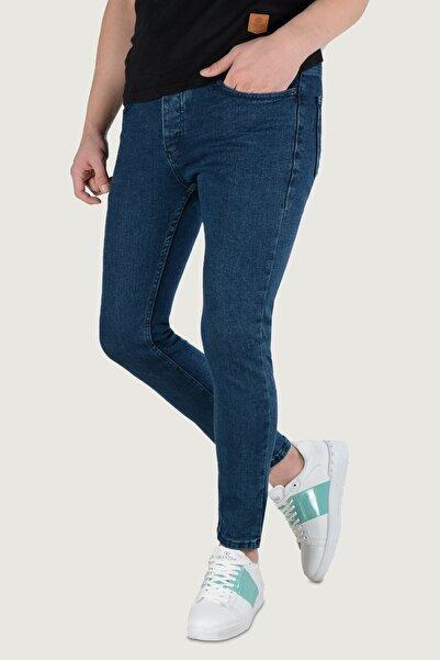 Terapi Men Erkek Likralı Slim Jean Pantolon 9k-2100377 Lacivert