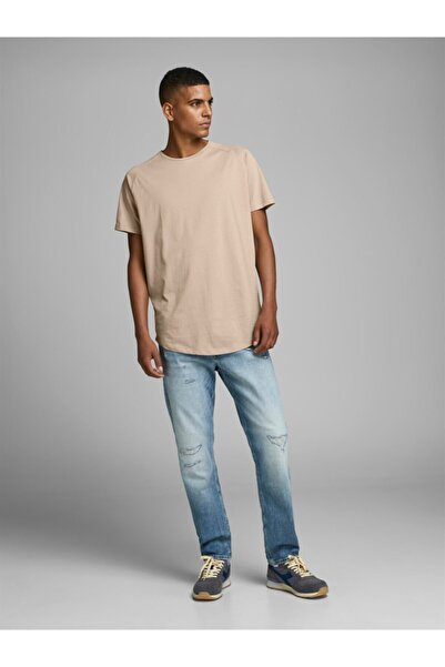 Jack & Jones Jjecurved Tee Ss O-neck Noos