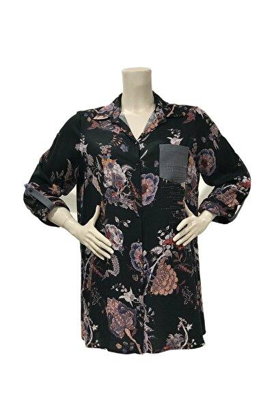 Femina Kadın Desenli Gömlek