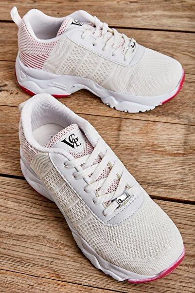 Bambi Beyaz Kadın Sneaker L0613691082