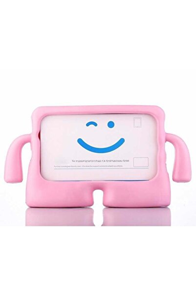 zore Samsung Galaxy Tab 10.1 T580 Çocuklara Özel Tablet Kılıfı Full Silikon Koruma