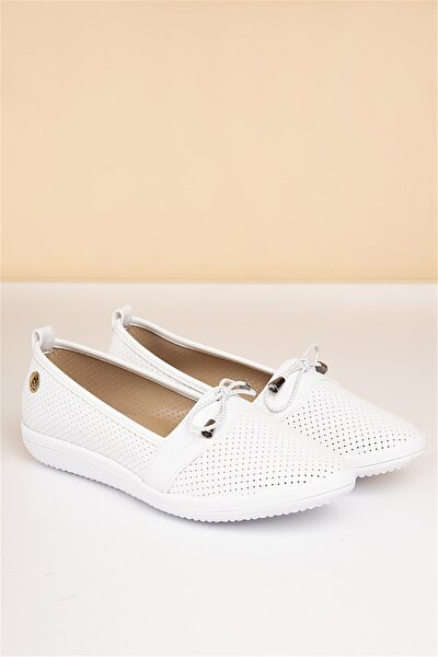 Pierre Cardin Pc-50091 Beyaz Kadın Ayakkabı