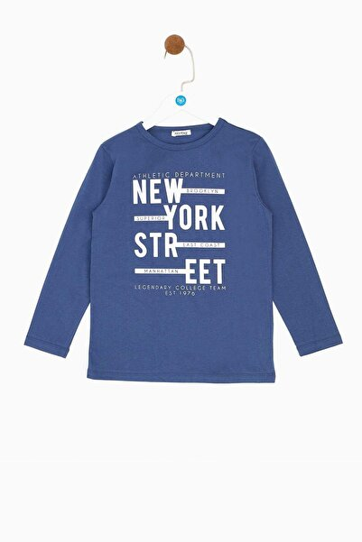 Riccione Erkek Çocuk Lacivert T-shirt