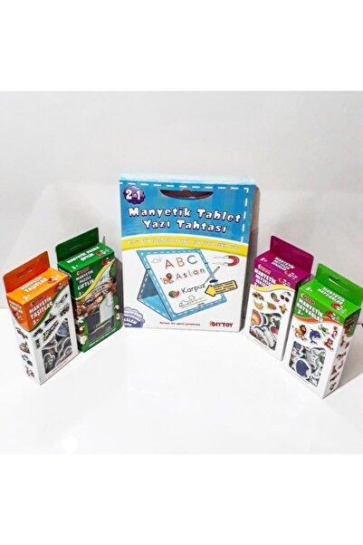 DIY Toys Manyetik Tablet Yazı Tahtası Ve Kutu Magnetler Seti