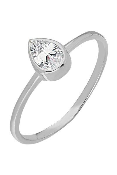 Chavin Gümüş Taşlı Kadın Yüzük Mini Eklem Yüzüğü Ed82by