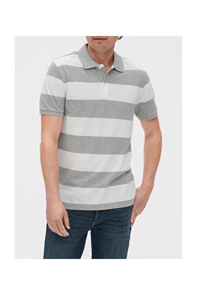 GAP Polo Yaka Çizgili T-shirt