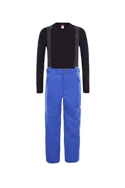 THE NORTH FACE Snowquest Suspender Plus Çocuk Pantolon Mavi