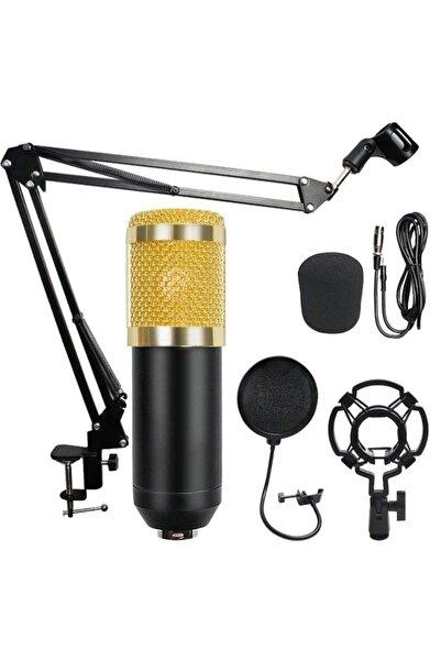 whitetech Bm800 Stüdyo Kayıt Youtuber Mikrofonu Seti + Stand + Pop Filtre