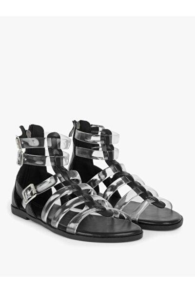 Twist Şeffaf Bantlı Sandalet