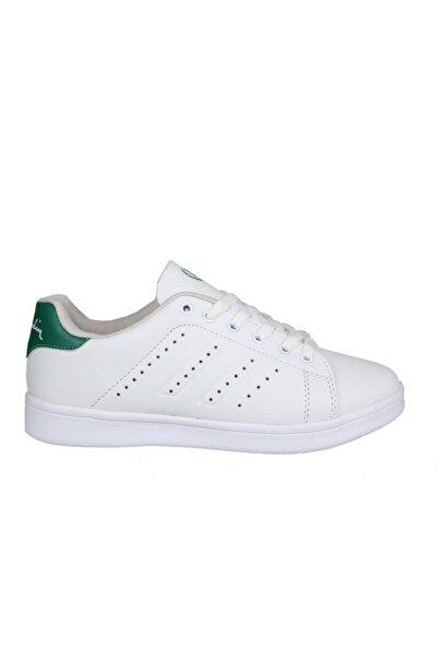 Pierre Cardin Pcs-10144 Beyaz Yeşil Unisex Sneakers