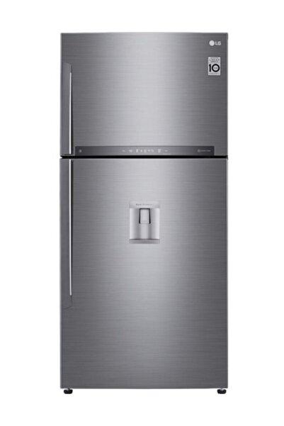 LG GR-F802HLHU A++ 631 Lt Su Pınarlı Nofrost Inox Buzdolabı