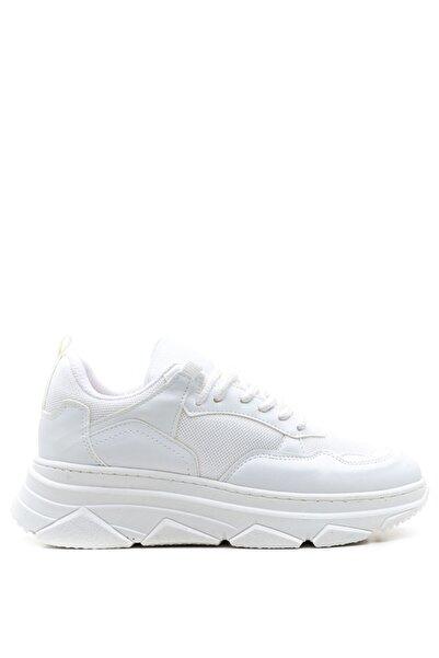 Bulldozer 201957 Beyaz Kadın Sneakers Ayakkabı