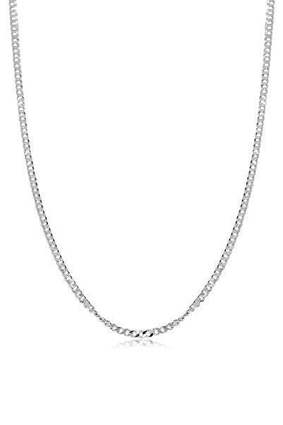 Ventino Silver Gurmet Gümüş Erkek Zincir Kolye Vek-3020