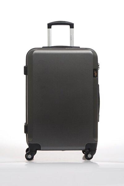 U.S. Polo Assn. Plvlz9139b Gri Unisex Orta Boy Bavul