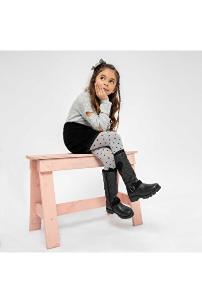 Kinetix Serıs 9pr Siyah Kız Çocuk Basic Casual Ayakkabı